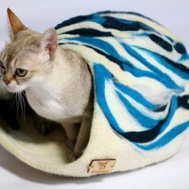 wełniany domek dla kota SingaLove