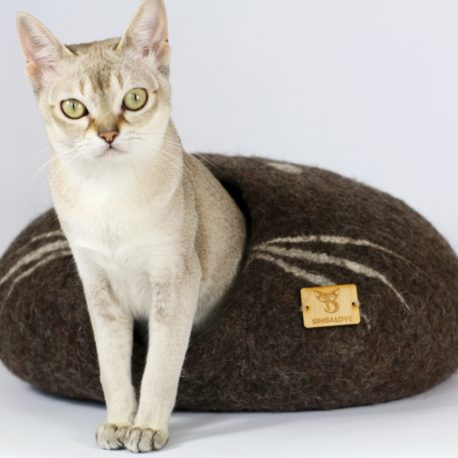 kokon dla kota wełniany SingaLove