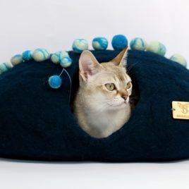 kokon dla kotów SingaLove Posejdon z kulkami